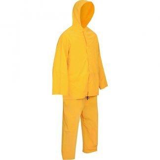 Traje Impermeable Calibre 16 Chaqueta Y Pantalon Seguridad Industrial Y Medica Sim
